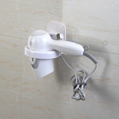 adhesive tape hair dryer holder mount 361005