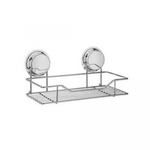 chrome suction cup shelf 268021