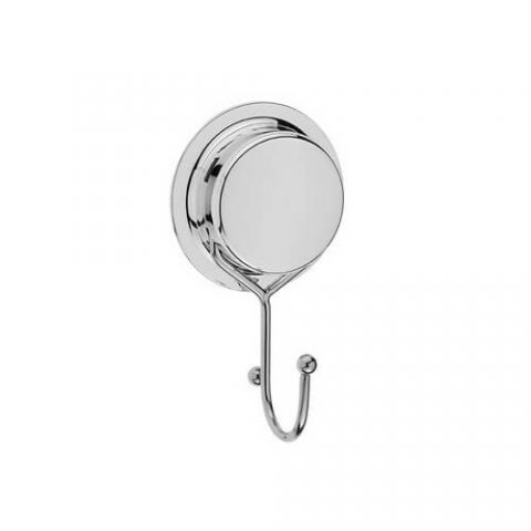 chrome suction hook for bathroom 268026
