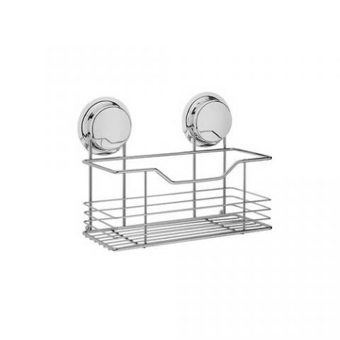 chrome suction shower shelf 268022