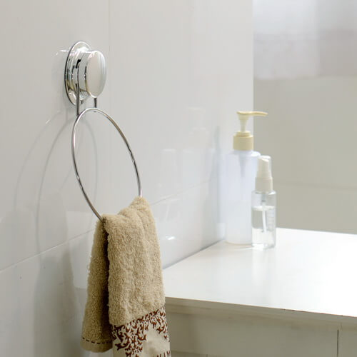 chrome towel ring 268006 using