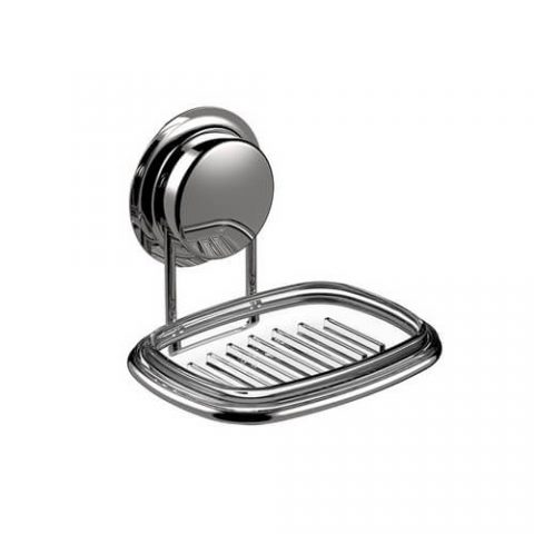 stainless steel suction soap dish 700014