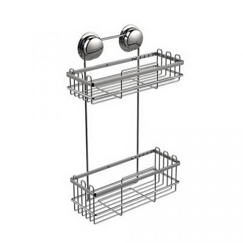 suction 2 tier metal baskets 620504