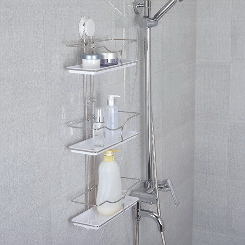 suction bathroom shelves 260018 using