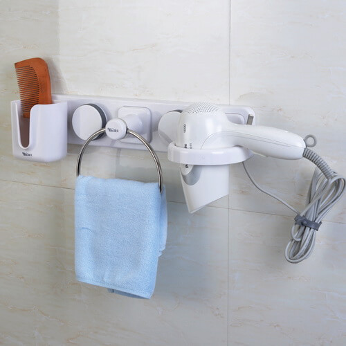 suction cup bathroom organizer 263002 using