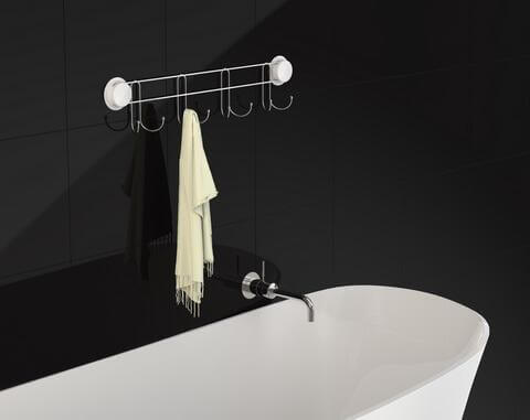 suction hooks for shower 260016 black