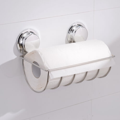 suction paper towel holder 268051 using