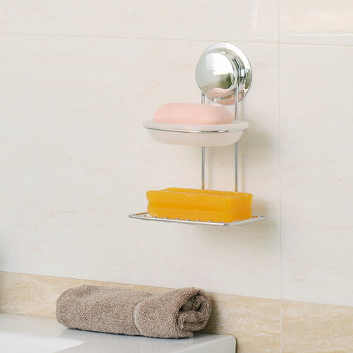 suction soap dish for shower 268133 using