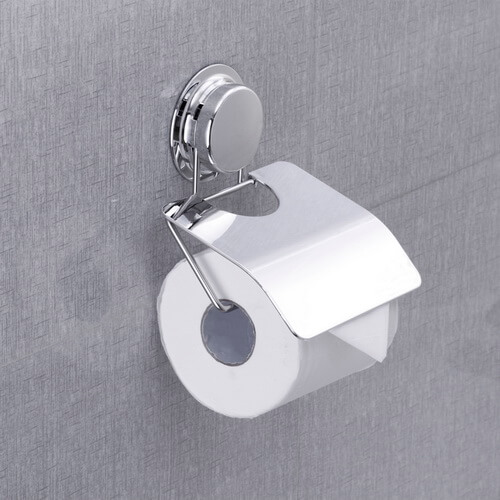 suction toilet roll holder 268028 using