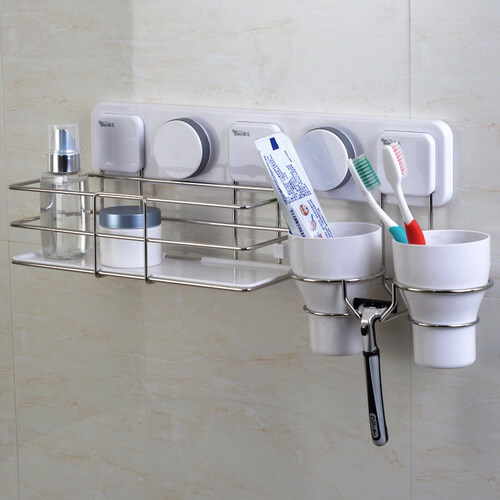 suction toothbrush holder set 263007 using