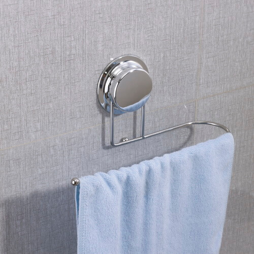 suction towel bar for glass shower door 268010 using
