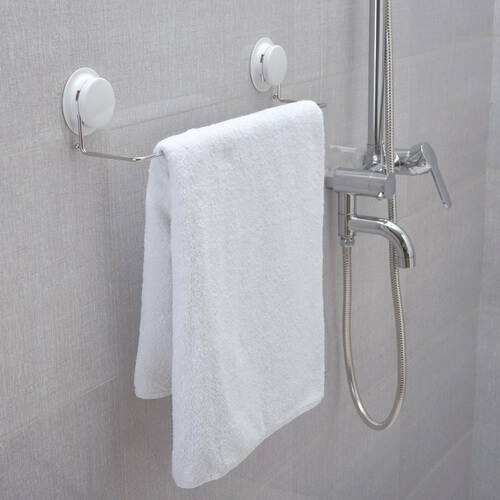 suction towel rail holder 260033 using